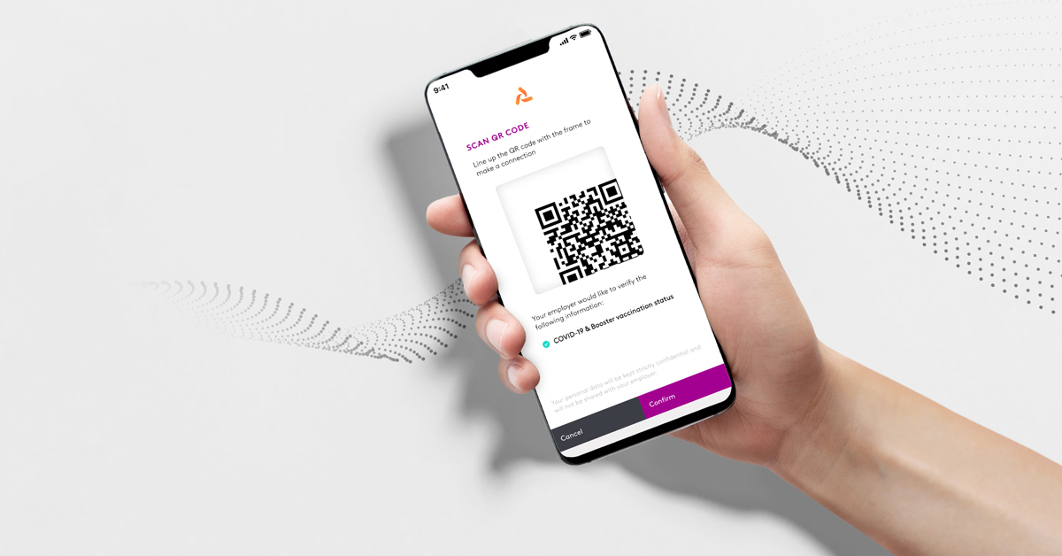 Image of 122020 Lumedic Connect QR Scan