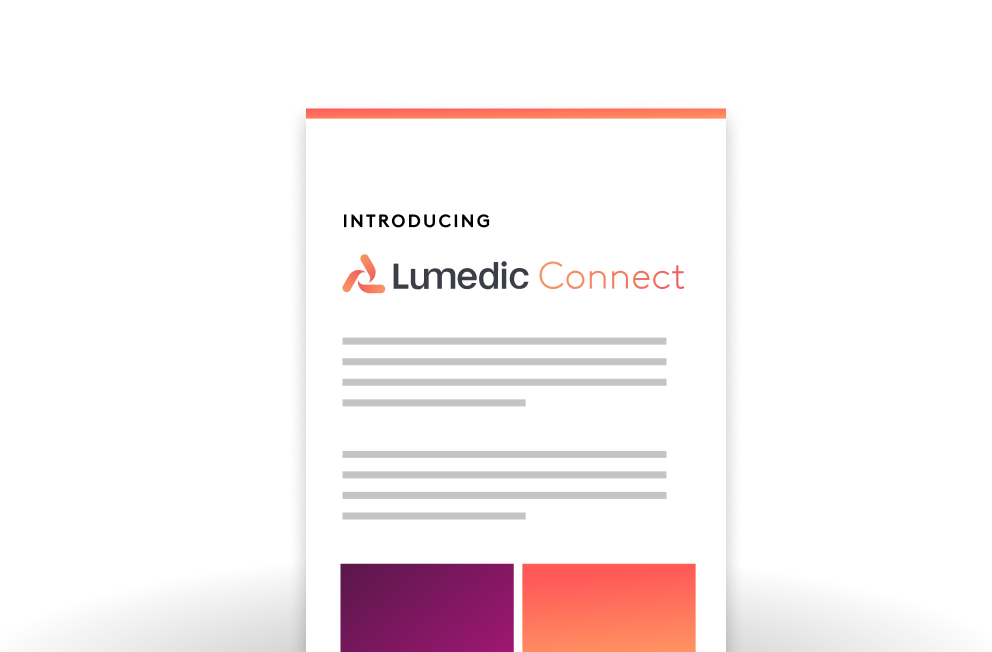 Lumedic Connect Overview